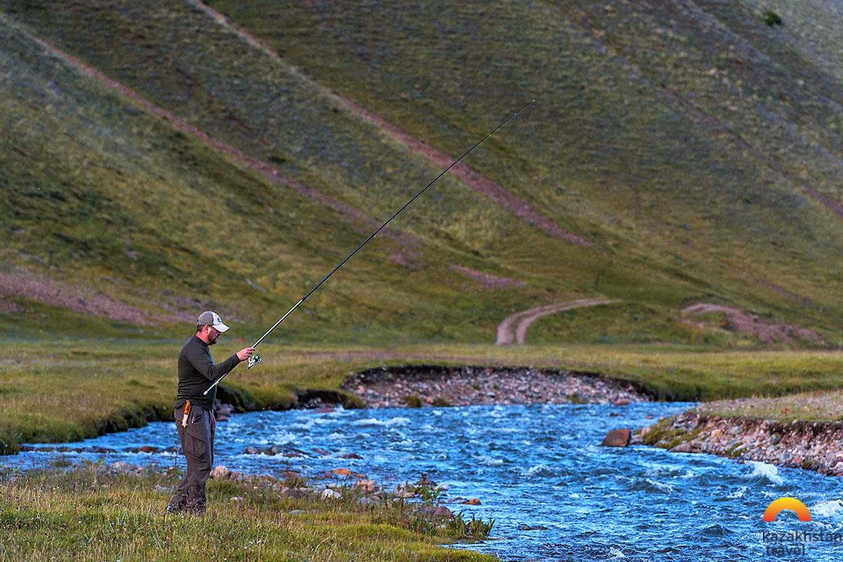 The best fishing destinations in Kazakhstan