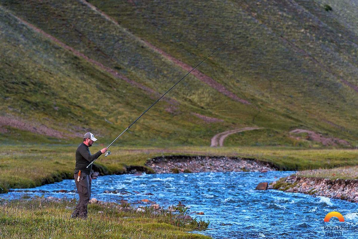 The best fishing destinations in Kazakhstan